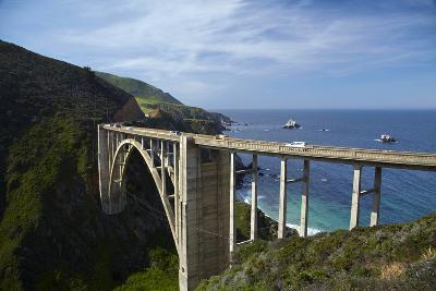 Bixby Creek Bridge, Pacific Coast Highway, Big Sur, Central Coast, California, Usa-David Wall-Photographic Print