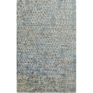 Bjorn Area Rug - Blue Slate/Beige 5' x 8'