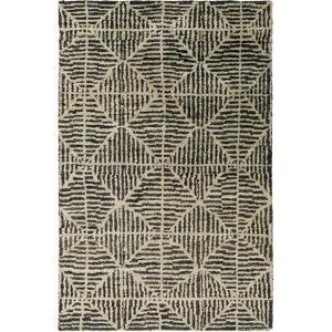 Bjorn Area Rug - Charcoal/Beige 5' x 8'
