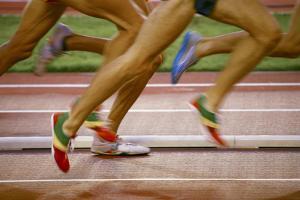 Atheltes Running by Bjorn Svensson
