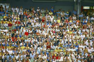 Crowd of Spectators by Bjorn Svensson