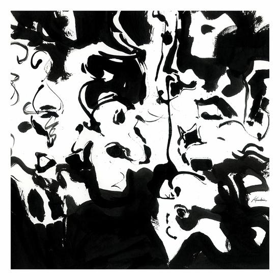Black 4-Diane Lambin-Art Print