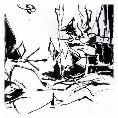 Black 6-Diane Lambin-Art Print