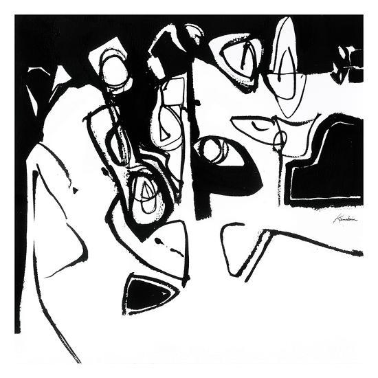Black 7-Diane Lambin-Art Print