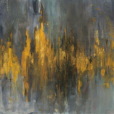 Black and Gold Abstract-Danhui Nai-Art Print
