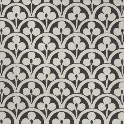 Black and Tan Tile I-Vision Studio-Art Print