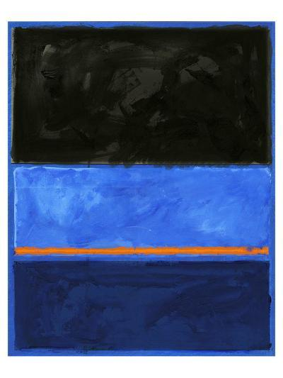 Black and Tangerine-Carmine Thorner-Art Print