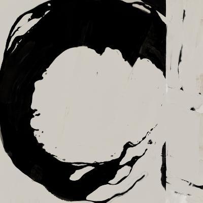 Black And Taupe Abstract 4-Kasi Minami-Art Print