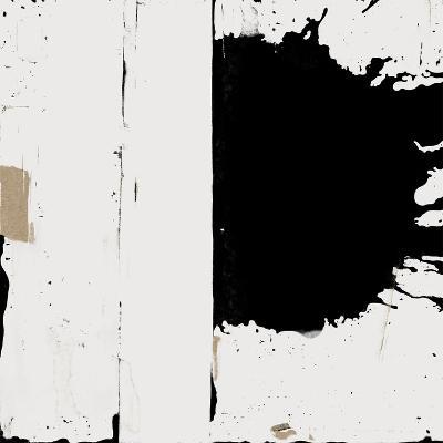 Black And White Abstract 3-Kasi Minami-Art Print