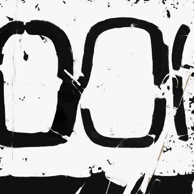 Black And White Abstract 4-Kasi Minami-Art Print