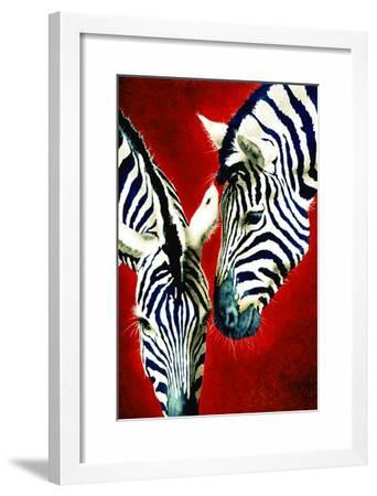 Black and White Affair-Will Bullas-Framed Giclee Print