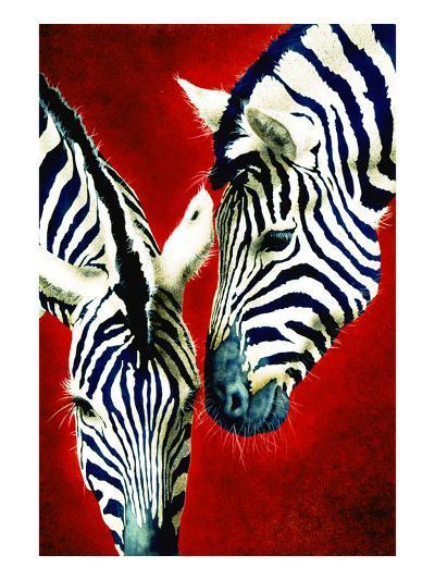 Black and White Affair-Will Bullas-Premium Giclee Print