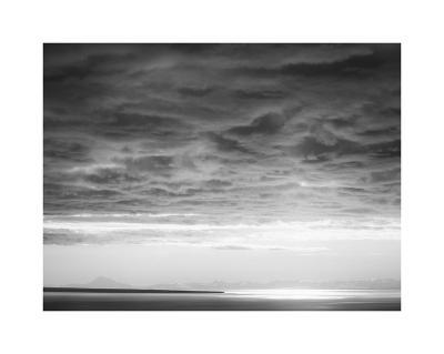 Black and white cloud formatio-Savanah Plank-Giclee Print