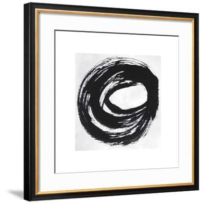 Black and White Collection N° 27, 2012-Allan Stevens-Framed Serigraph