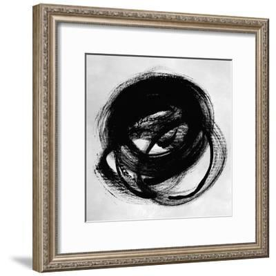 Black and White Collection N° 29, 2012-Allan Stevens-Framed Serigraph