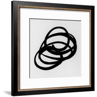 Black and White Collection N° 31, 2012-Allan Stevens-Framed Serigraph