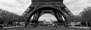 Black and White, Eiffel Tower, Paris, France