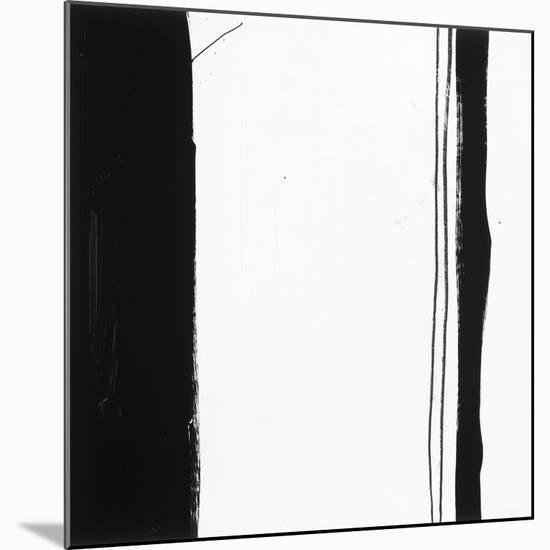 Black and White G-Franka Palek-Mounted Premium Giclee Print