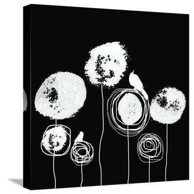 Black and White II-Irena Orlov-Stretched Canvas Print