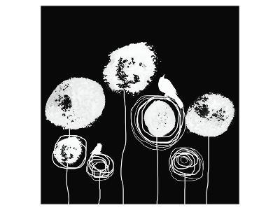 Black and White II-Irena Orlov-Art Print