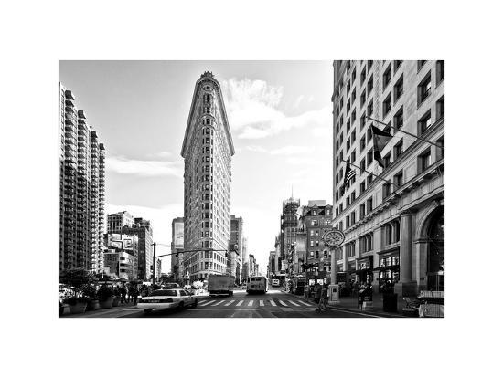 Black and White Photography Landscape of Flatiron Building and 5th ...