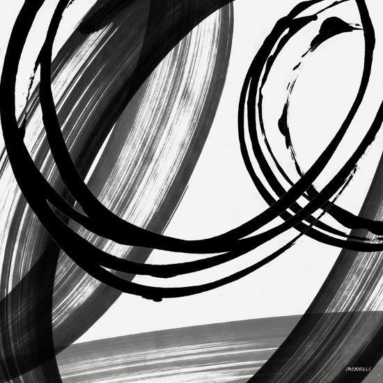 Black and White Pop I-Dan Meneely-Art Print