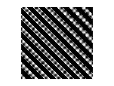 Black And White Stripe Pattern-Maksim Krasnov-Art Print