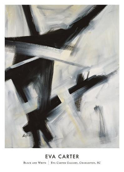 Black and White-Eva Carter-Art Print