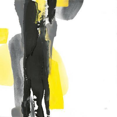 Black and Yellow II v2-Chris Paschke-Art Print