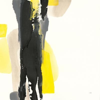 Black and Yellow II-Chris Paschke-Art Print