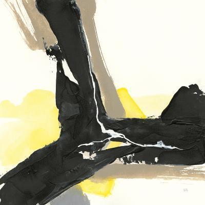 Black and Yellow III-Chris Paschke-Art Print