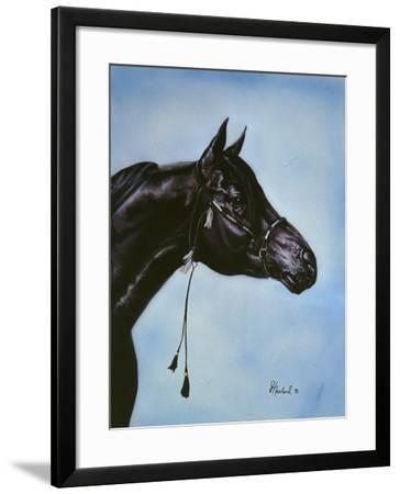 Black Arabian-Jenny Newland-Framed Giclee Print