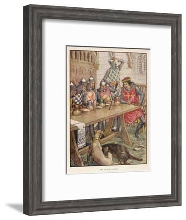Black Arrow--Framed Giclee Print