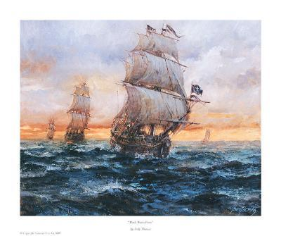 Black Bart's Fleet-Andy Thomas-Art Print
