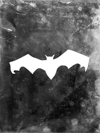 Black Bat Halloween-Jetty Printables-Art Print