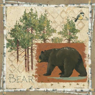 Black Bear-Anita Phillips-Art Print