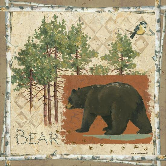 Black Bear-Anita Phillips-Art Print
