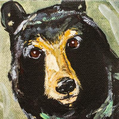 Black Bear-Molly Susan-Art Print