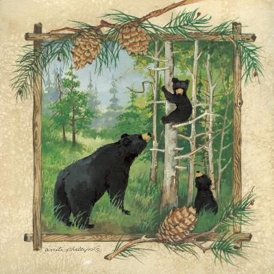 Black Bears II-Anita Phillips-Art Print