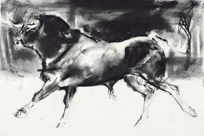 Black Bull-Mark Adlington-Giclee Print