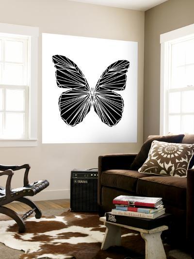 Black Butterfly-Lisa Kroll-Wall Mural