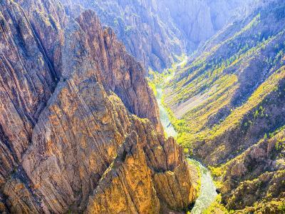 Black Canyon of the Gunnison National Park, Colorado, USA-Jamie & Judy Wild-Photographic Print