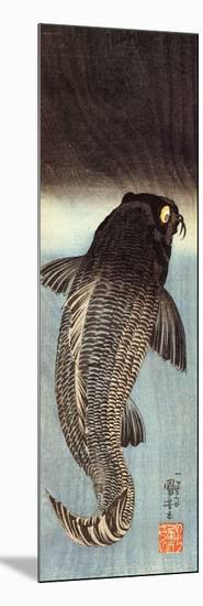 Black Carp-Kuniyoshi Utagawa-Mounted Giclee Print