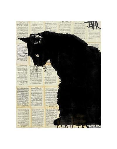 Black Cat-Loui Jover-Art Print