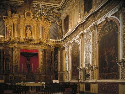 Black Christ's Chapel, Church--Giclee Print
