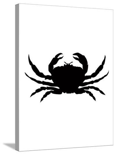 Black Crab-Jetty Printables-Stretched Canvas Print