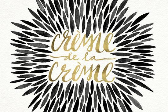 Black-CremeDeLaCreme-artprint-Cat Coquillette-Wall Mural