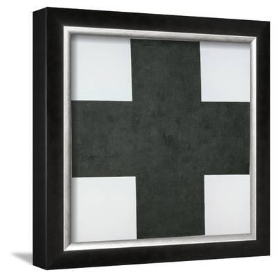 Black Cross, c.1920-Kasimir Malevich-Framed Giclee Print