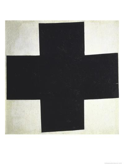 Black Cross-Kasimir Malevich-Giclee Print