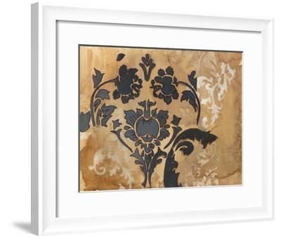 Black Damask-Arielle Adkin-Framed Art Print